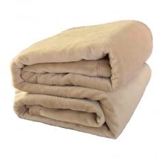 シール織綿毛布 (無地)(ベージュ) 三和シール工業株式会社