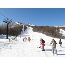【あだたら高原スキー場】大人ペア リフト1日券