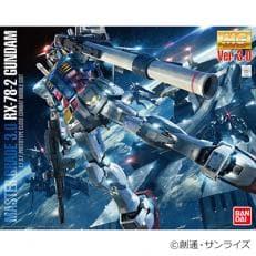 バンダイのプラモデル (MG 1/100 RX-78-2 ガンダム Ver.3.0)