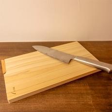 お料理が上質の癒やし時間に!四万十ひの木のスタンド付きまな板