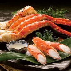【超特大・極太5Lサイズ】本たらば蟹ボイル脚1kg