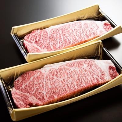 【鹿児島県産】A5 黒毛和牛 サーロインステーキ 400g