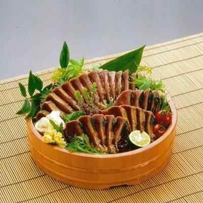 藁焼き鰹タタキ約3kgセット(a16-019)