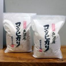 2020年2月発送開始『定期便』【無洗米】お米マイスター厳選魚沼産コシヒカリ100%6kg 全3回