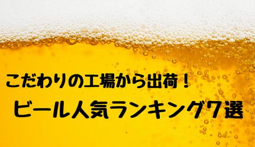 【ふるさと納税】こだわりの工場から出荷! ビール人気ランキング7選