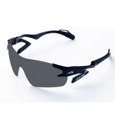 鼻パッドのないサングラス「エアフライ」最新型AF-301 C-3 ブラック(偏光レンズ装着版)