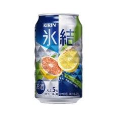 キリン福岡工場産 氷結グレープフルーツ350ml缶 24本