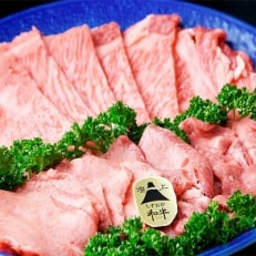 静岡県産牛ロース・牛タン焼肉用セット約600g