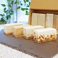 白砂糖不使用チーズケーキお試し4種詰め合わせ 6個入り