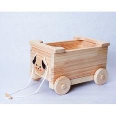 【手作り木工品】おもちゃ箱