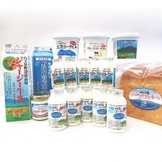 【ヤツレン】信州から牛乳を使った製品セット(牛乳、ヨーグルトなど)