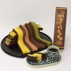 手焼きカステラ切り落とし(200g×8本)+カステララスク(チョコがけ)
