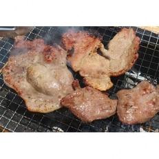 【簡単調理】九州産豚肩ロースと東松島牛タン食べくらべセット(味付)