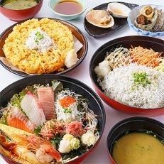 湘南江の島 しらす問屋とびっちょ ペアお食事券(2名様1組分)