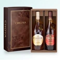 【美浜町】【南高梅100%】The CHOYA ギフトセット 720ml×2本