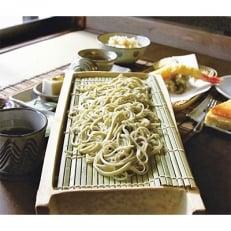 そば処白水 十割蕎麦と天ぷらセット【輪の膳】ペアお食事券