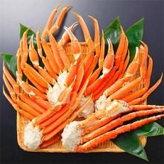 【北海道】 蟹足食べ比べ  約2kgセット 4~6人前(タラバガニ足&ズワイガニ足)13-5