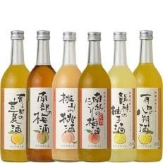 和歌のめぐみ酒【C】セット720ml×6種 世界一統(A003)