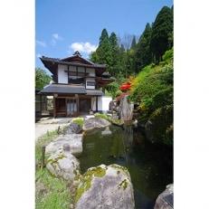 回遊式日本庭園「石照庭園」別邸和膳ペアチケット