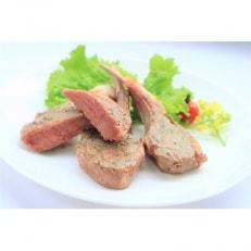【稚内の肉職人】たかみさんのPREMIUMラムチョップ 320g(5~6本)×2パック