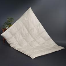 【甲州羽毛肌掛けふとん】アイダーダウン95%ジャガード織り (シングル)