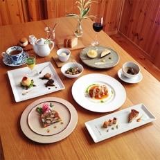 長野県御代田町 『ディナーお食事券』 菜食コース料理+ドリンク付き(2名様分)