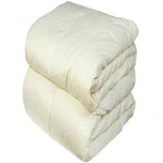 国産 羽毛布団 二枚合わせ キングサイズ