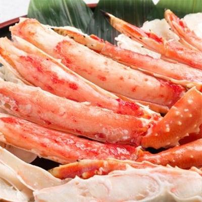 紋別産タラバガニ食べつくしセット1.2kg