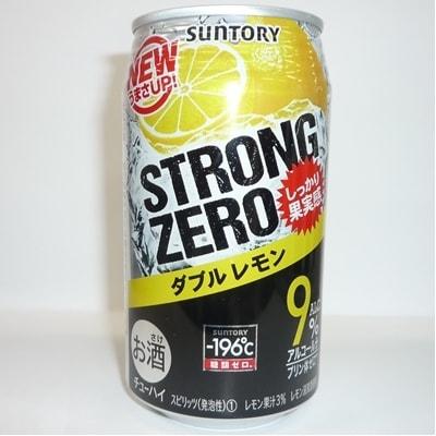 サントリー -196℃ ストロングゼロ【ダブルレモン】1ケース