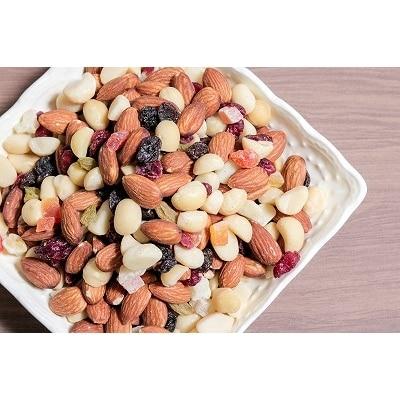 【ドライフルーツ入り】無塩の素焼きミックスナッツ1.2kg H059-016