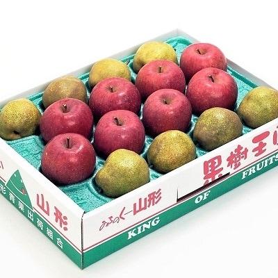 ラ・フランスとふじりんご詰め合わせ 5kg 0020-2010