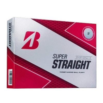 SUPER STRAIGHT ゴルフボール ホワイト 3ダース