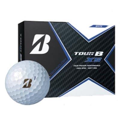 TOUR B XS ゴルフボール パールホワイト 1ダース (ゴルフボール)