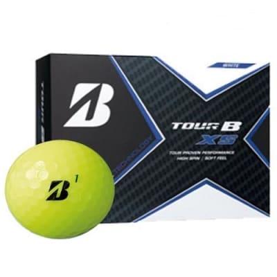 TOUR B XS ゴルフボール イエロー 1ダース (ゴルフボール)
