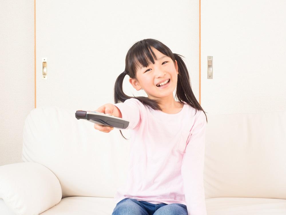 子ども、テレビ