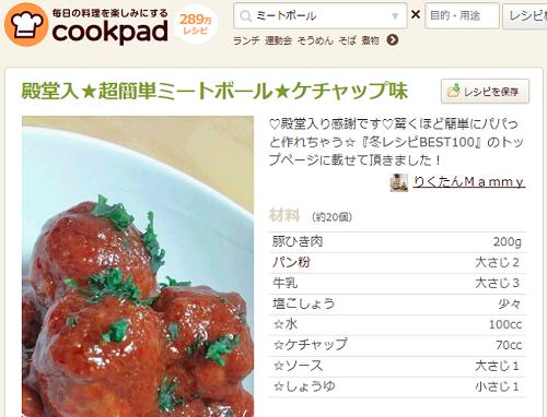 ケチャップの簡単レシピ