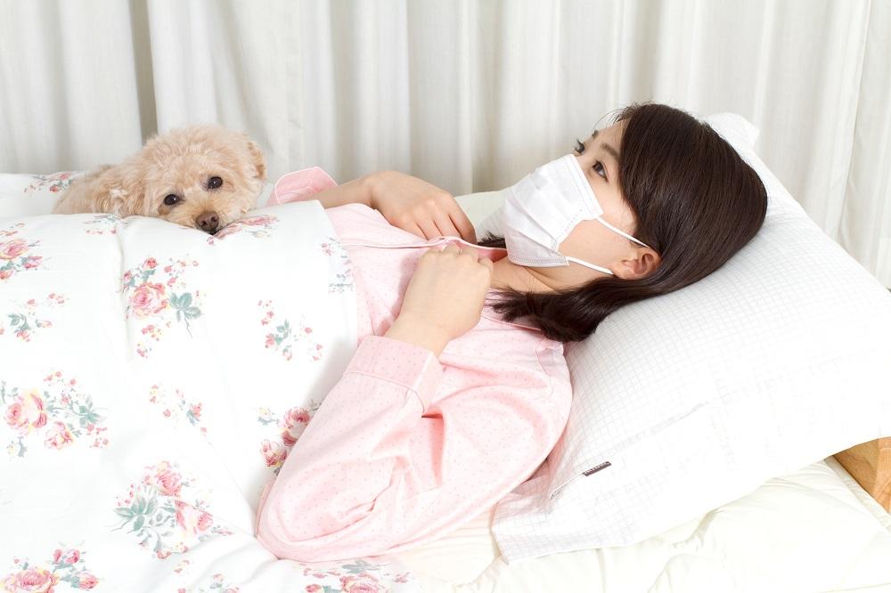 マスクをして寝る