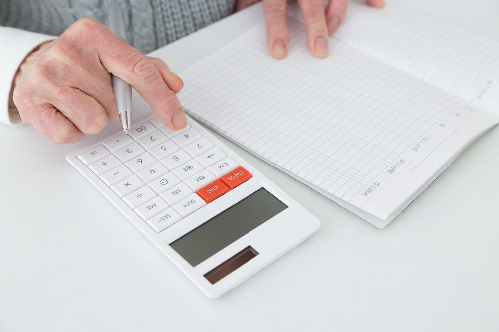 家計簿の項目ごとに平均をだす