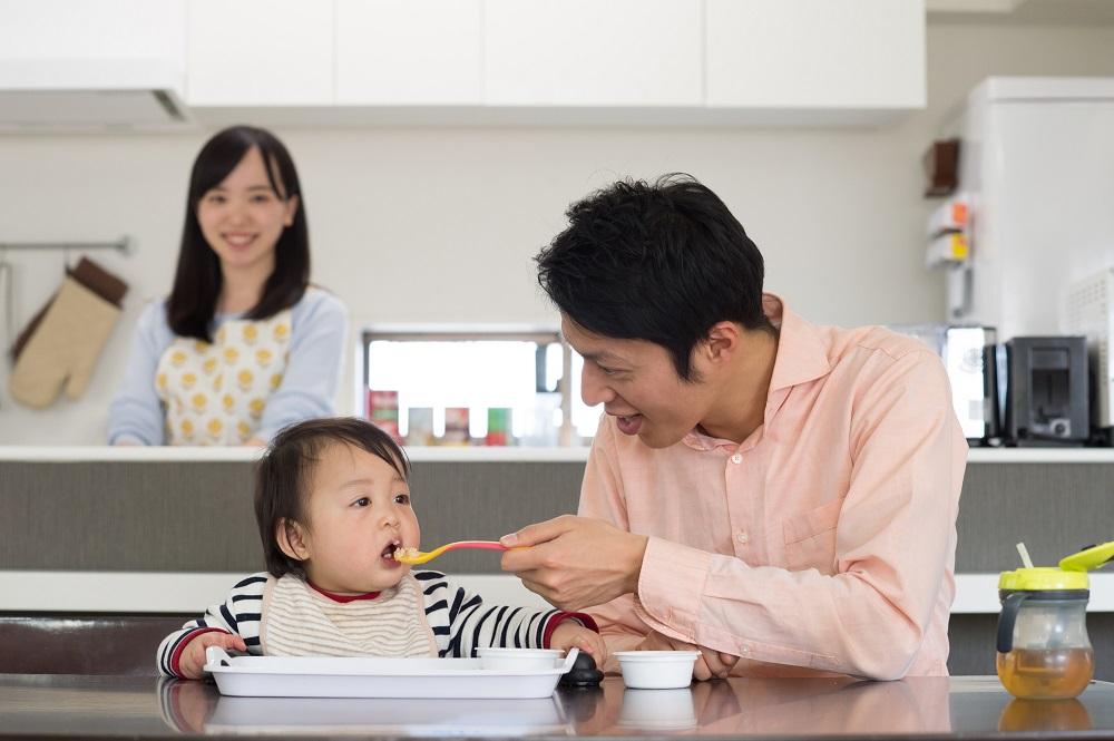 育児も家事もシェア