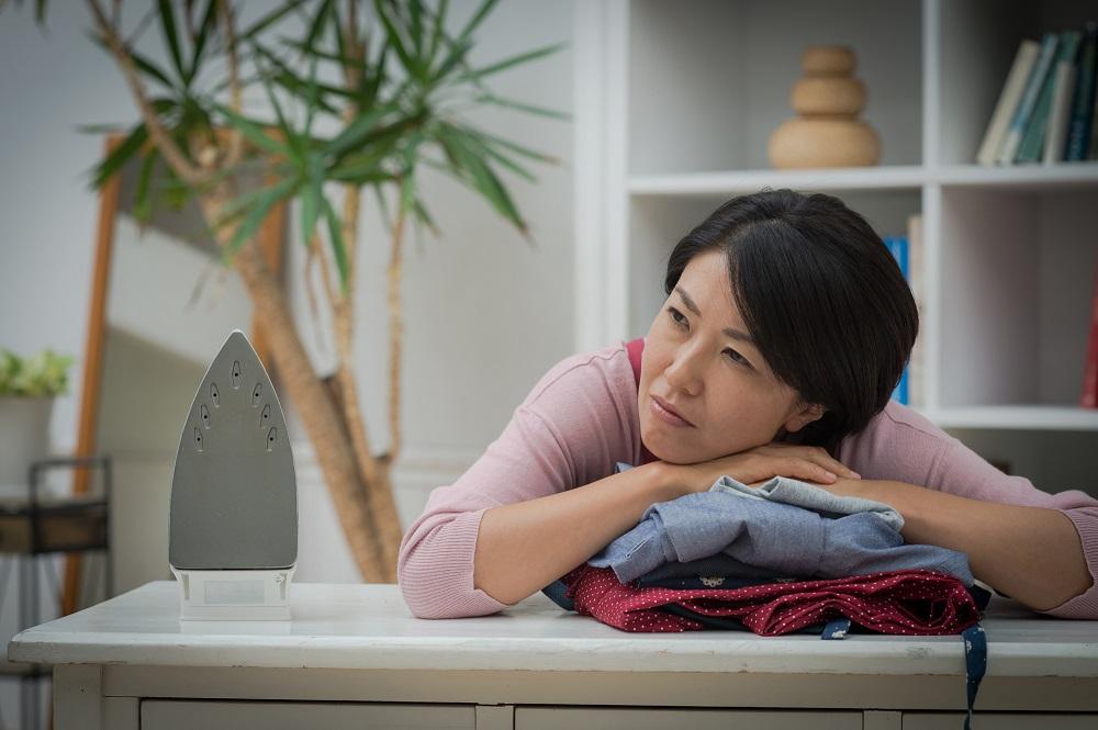 仕事と家事のストレスや疲れ