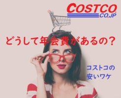 コストコの安い訳と年会費の元をとる方法