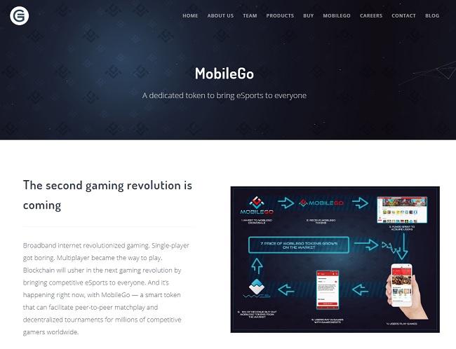 e-sports用の仮想通貨として発行された「MobileGo」が、Wavesのプラットフォームを使用しています