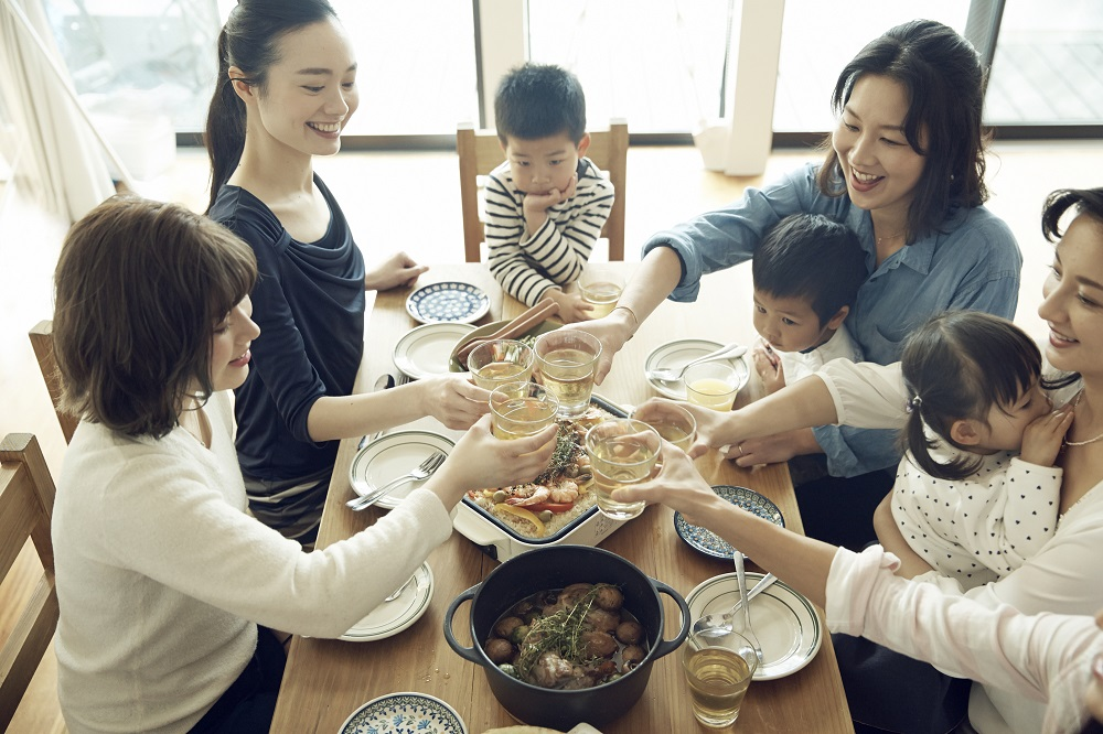 誕生日や歓迎会など、イベントごとではホームパーティを活用