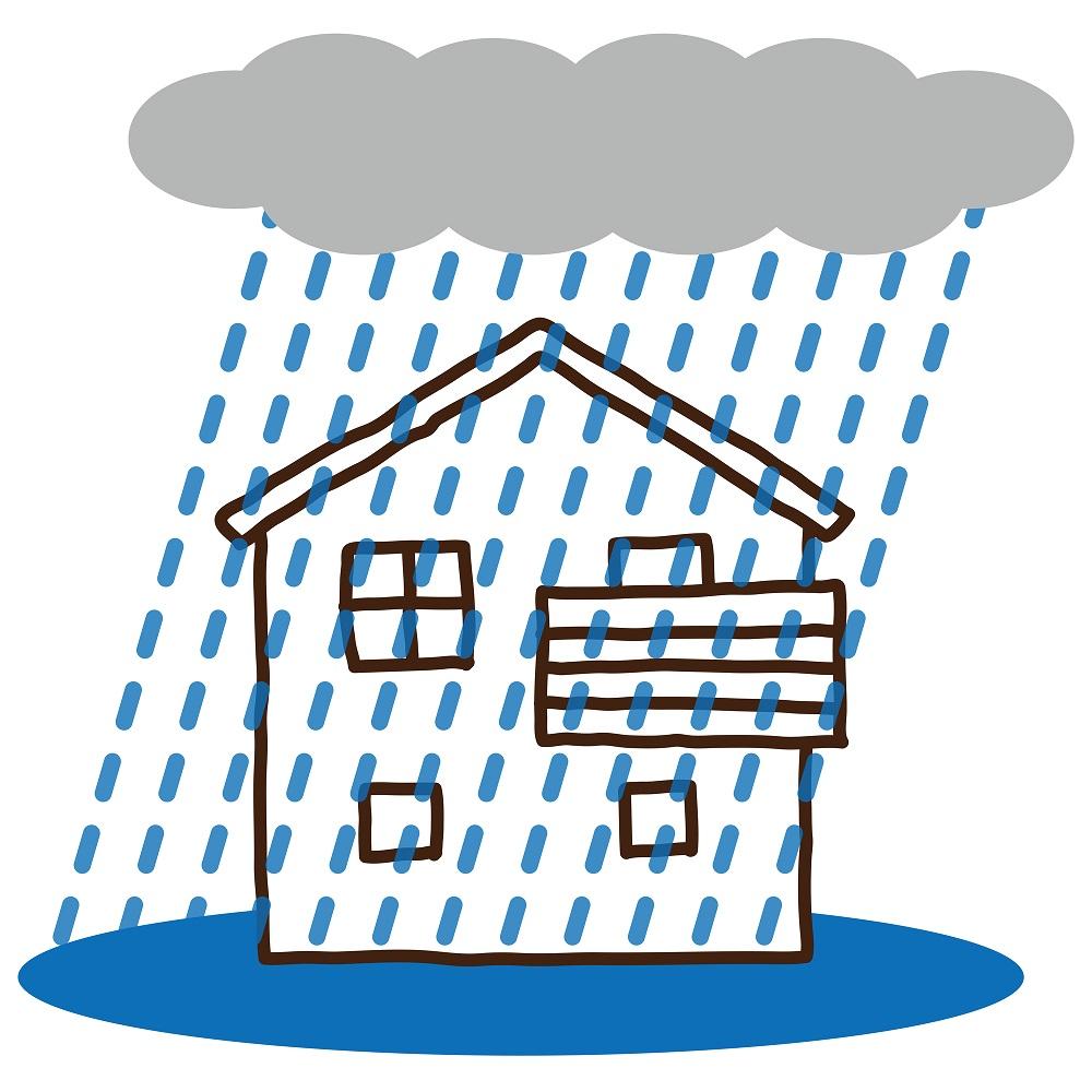 大雨による災害で家財にかなりの損失を受けた場合の救済措置