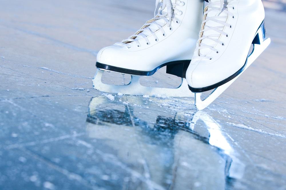 夏のスケート