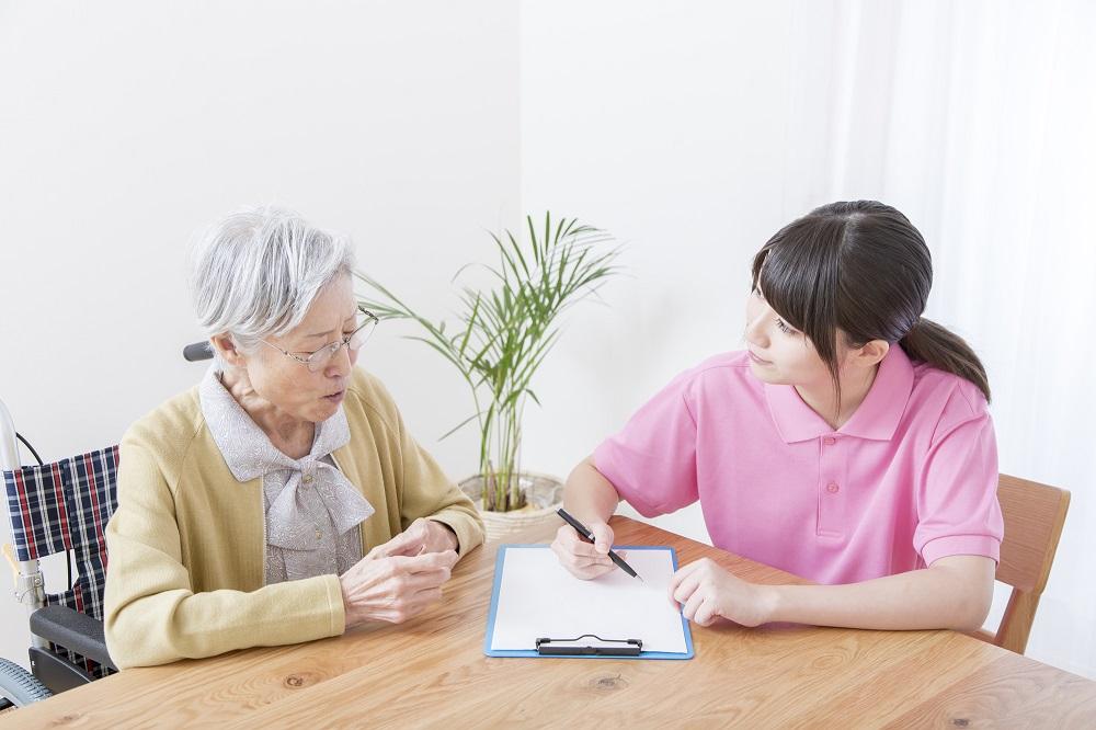 「介護認定調査」は、介護を受ける人の普段の様子を知るための調査