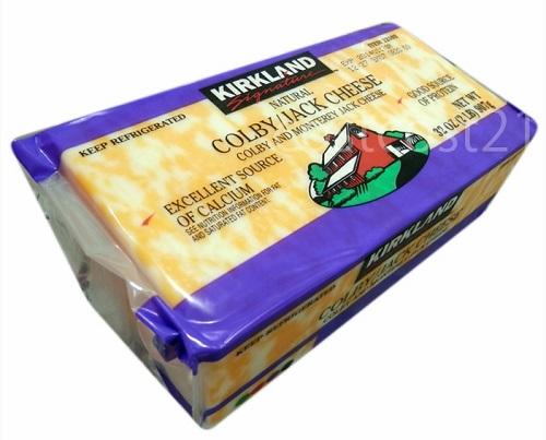 コルビージャックチーズ 907g カークランド