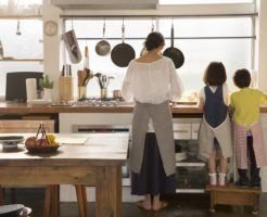 どのようなキッチンの家庭で育ったか