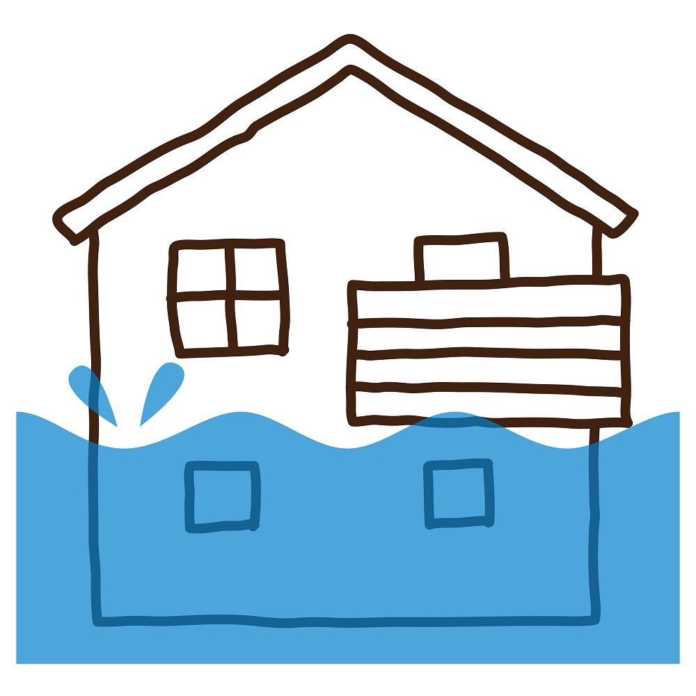 水災の保険料が高いからといって、安易に外すのは危険