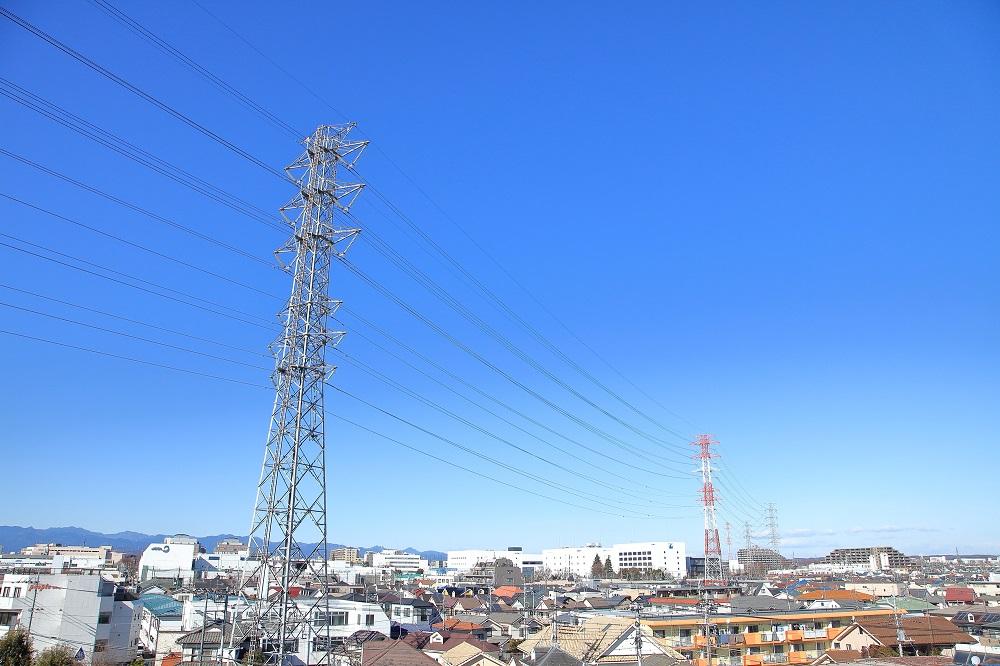 電線や鉄塔がある土地の値段は低い